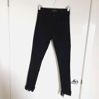 Maxim Frayed Hem Jeans