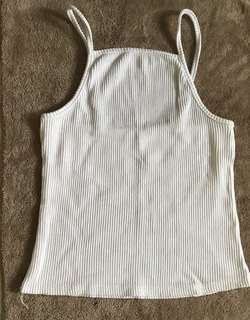 White High Neck Camisole