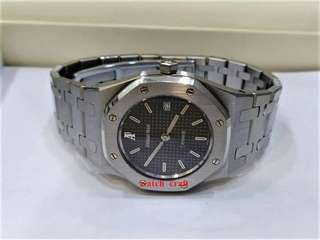 *Used Audemars Piguet Royal Oak Black Dial  Ladies Automatic 30mm (Watch only)