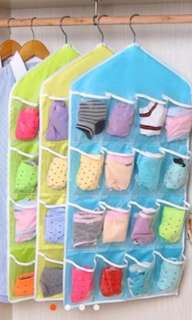 16 pocket hanging organizer