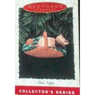 Hallmark Keepsake ornaments from the 90's Cat Nap inside a nice original box.