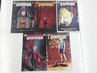 Chilling Adventures of Sabrina (2014 Archie) Comics Set