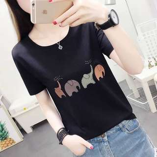 Plus Size Cute Shirt Top Tee Up To 75KG [PO]