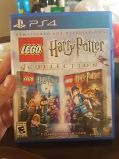 Harry Potter game recently bought , used