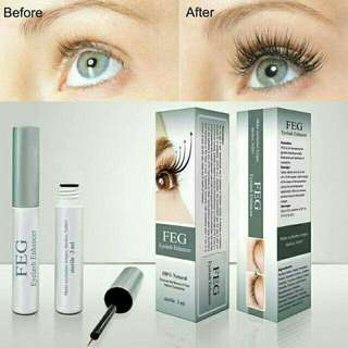 FEG Eyelash Growth Serum Nourishing Eyelash Enhancer Longer Fuller