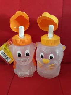 Rubbermaid Juice Bottle 250ml (Tiger & Lion)
