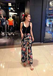 Terno (Top+Floral Square Pants)