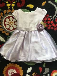 Baby Dress (Dusty Purple)