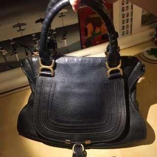 Chloe black leather bag