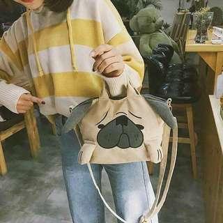 Cute Dog Sling Bag