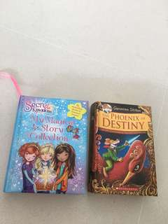 Geronimo Stilton Books and Secret Kingdom