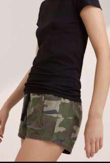 TNA Camoflauge shorts