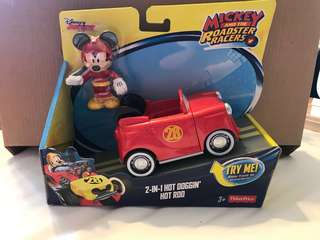 Mickey and the roadster racers 2 in 1 hot doggin hot rod