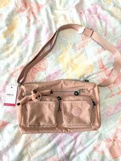 Kipling GAELLE Soft Pink Sling Bag