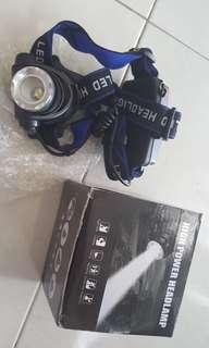 T6 LED 3000LM Headlamp waterproof