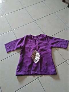 Baju kurung baby nak letgo