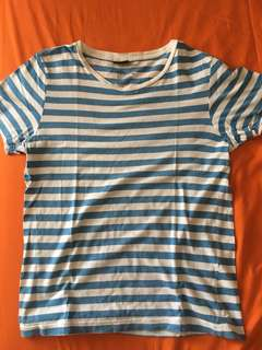 H and m kaos garis garis size S