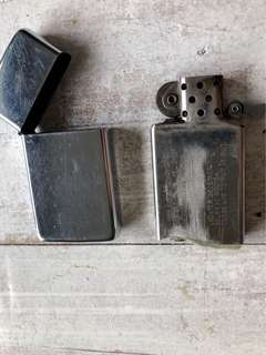 Zippo Stainless Lighter with Zippo Flints