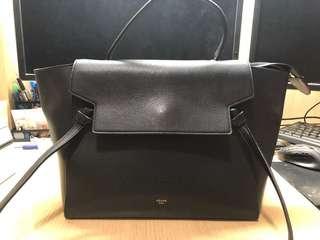 Celine Belt Bag Black 黑色大号鲶鱼包