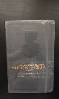 Ruled Journal with Pocket, 192 pages (The Hunger Games Mockingjay) Notebook A5