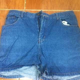 Korean maong shorts
