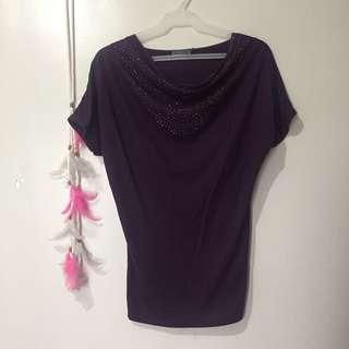 Violet casual top