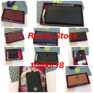 Original Tory Burch wallet read Stock on hand unit
