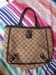 Authentic Gucci Bag with Serial Number
