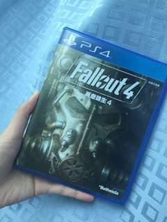 PS4 GAME FALL OUT 4