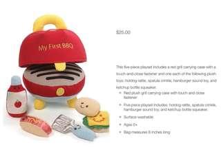 Pre-order basis: Gund cute soft playsets