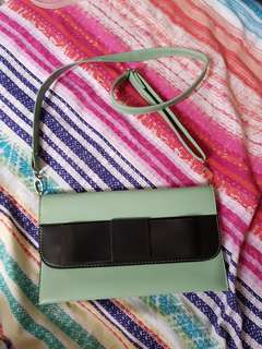 Faux Leather Sling Bag from HK