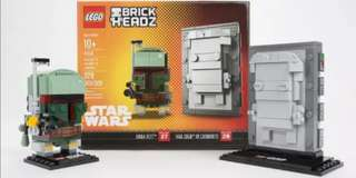 WTB/ Buying Lego Brickheadz 41498 NYC Boba Fett & Han Solo in carbonite