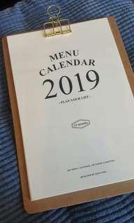 北歐簡約月曆