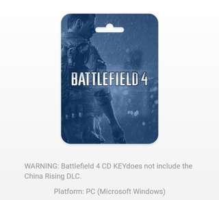 BATTLEFIELD 4 standard pack