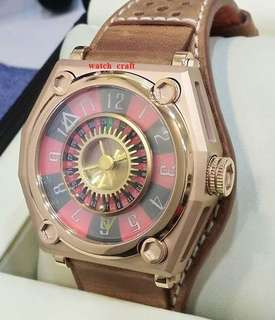 New Heritage Innovative Design Rose Gold (Coated) Casino Edition