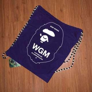 Bape Drawstring Bag