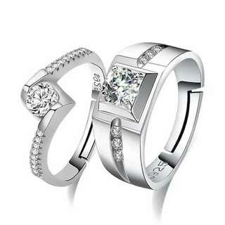 Platinum Couple Ring