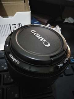 Canon 50mm f1.8 ll