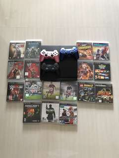 PS3 Bundle [$200 for Console + Games!]