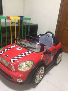 Motor toddler car