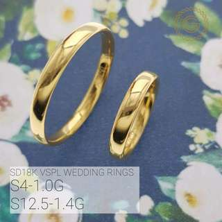 18k real saudi gold wedding ring...