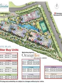The Garden Residences star buy units