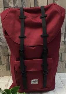 Herschel bagpack 23x13x7