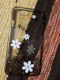 Flowers with Studs Iphone 6/6s Casing