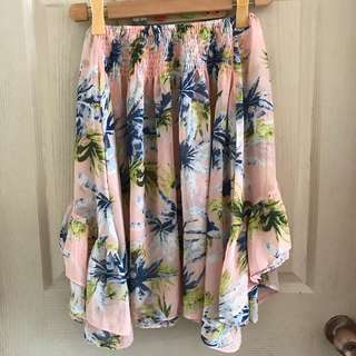 Bohoo Tropical Offshoulder