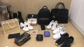 Gucci, Michael kors, Nike