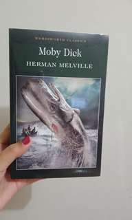 Novel Moby Dick Herman Melville
