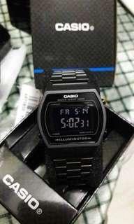Casio Vintage Black B640BW