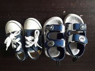 BUNDLE TODDLER SHOES AND SANDALS