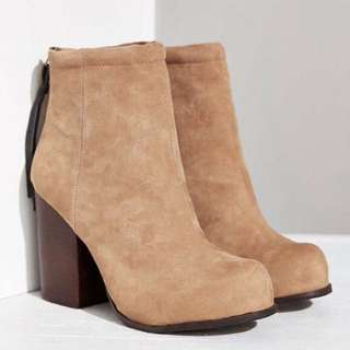 Jeffery Campbel Rumble Suede Block Heels